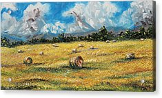 The Reaping Acrylic Print by Meaghan Troup