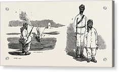 The Rebellion In The Soudan Sudan The Material With Which Acrylic Print by English School