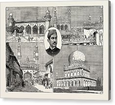 The Recent Installation Of The Nizam Of Hyderabad India 1 Acrylic Print by Indian School