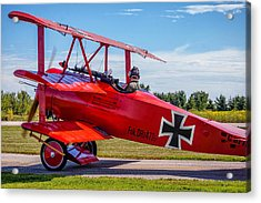 The Red Baron Acrylic Print
