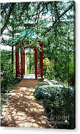 Asian Paths No. 29  Acrylic Print by Walter Neal