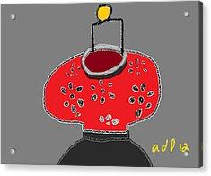 The Red Lantern Acrylic Print