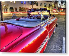 The Red Liner Acrylic Print