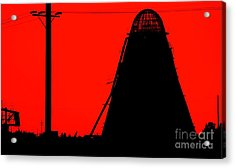 The Red Mill Acrylic Print by Jessica Shelton