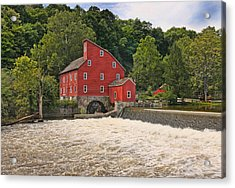 The Red Mill The Day After Irene Acrylic Print