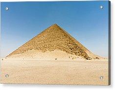 The Red Pyramid (senefru Or Snefru Acrylic Print by Nico Tondini