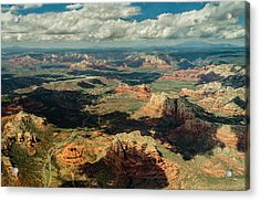 The Red Rocks Of Sedona Acrylic Print