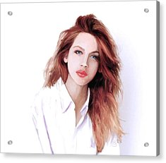 The Redhead Acrylic Print by G Cannon