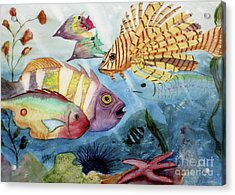 The Reef Acrylic Print