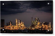 The Refinery Acrylic Print