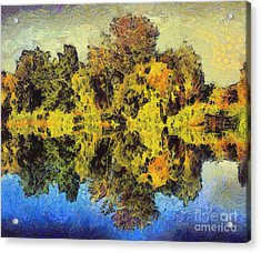 The Reflections Acrylic Print by Odon Czintos