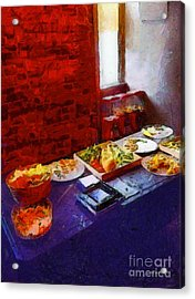 The Remains Of The Feast Acrylic Print by RC deWinter