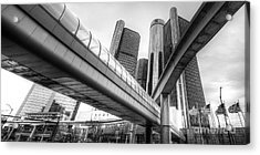 The Renaissance Center Acrylic Print