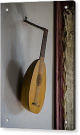 The Renaissance Lute Acrylic Print by Bill Cannon