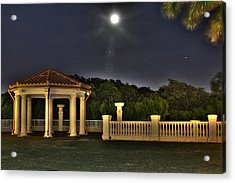 The Resort At Marina Village Acrylic Print by Ash Sharesomephotos