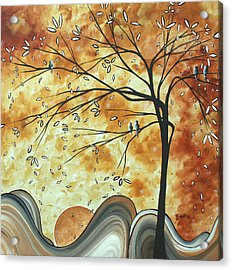 The Resting Place By Madart Acrylic Print by Megan Duncanson