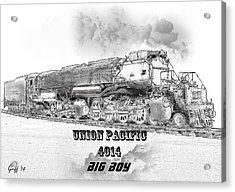 The Resurrection Of Big Boy 4014 Acrylic Print