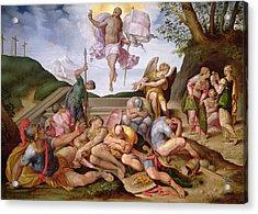 The Resurrection Of Christ, Florentine School, 1560 Acrylic Print
