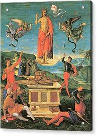 The Resurrrection Of Christ Acrylic Print