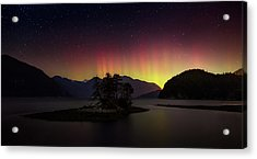 The Return Of The Aurora Borealis Acrylic Print