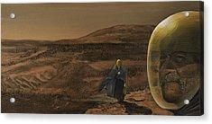 The Return Acrylic Print by Simon Kregar