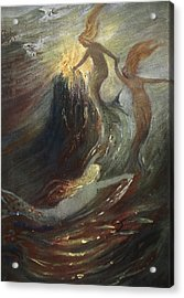 The Rhine Gold, 1906 Acrylic Print