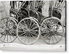 The Rickshaws Acrylic Print