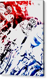 The Ride Acrylic Print by Frederico Borges