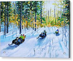 The Ride Acrylic Print