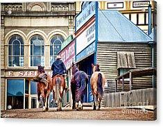 The Rider Acrylic Print