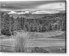 Acrylic Print featuring the photograph The Ridge 18th by Ron White