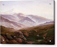 The Riesengebirge  Acrylic Print by Philip Ralley