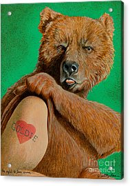 The Right To Bear Arms... Acrylic Print by Will Bullas
