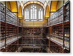 The Rijksmuseum Library Acrylic Print