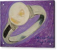The Ring Acrylic Print by Fladelita Messerli-