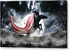 The Rise Of The Headless Horseman Acrylic Print