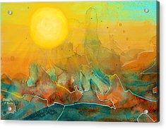The Rising Sun Acrylic Print by Sandi OReilly