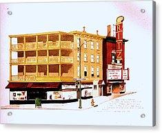 The Ritz Acrylic Print