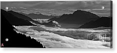 The River Of Clouds Acrylic Print by Marco Affini