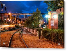 The River Railroad Acrylic Print