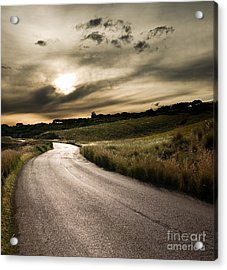 The Road Acrylic Print by Boon Mee