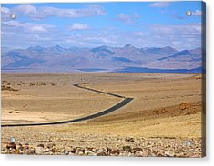 Acrylic Print featuring the photograph The Road by Stuart Litoff