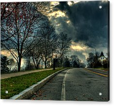 The Road Acrylic Print by Tim Buisman