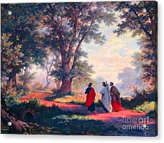 The Road To Emmaus Acrylic Print