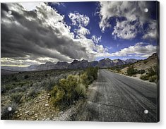 The Road To Red Rock Acrylic Print