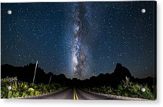 The Road To The Chisos Acrylic Print