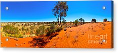 The Road To Uluru Acrylic Print