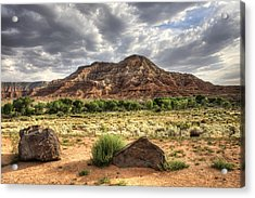 Acrylic Print featuring the photograph The Road To Zion by Tammy Wetzel