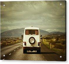 The Road Trip Acrylic Print by Irene Suchocki