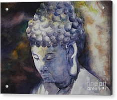 The Roadside Buddha Acrylic Print